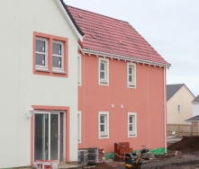 New house being built in Anstruther